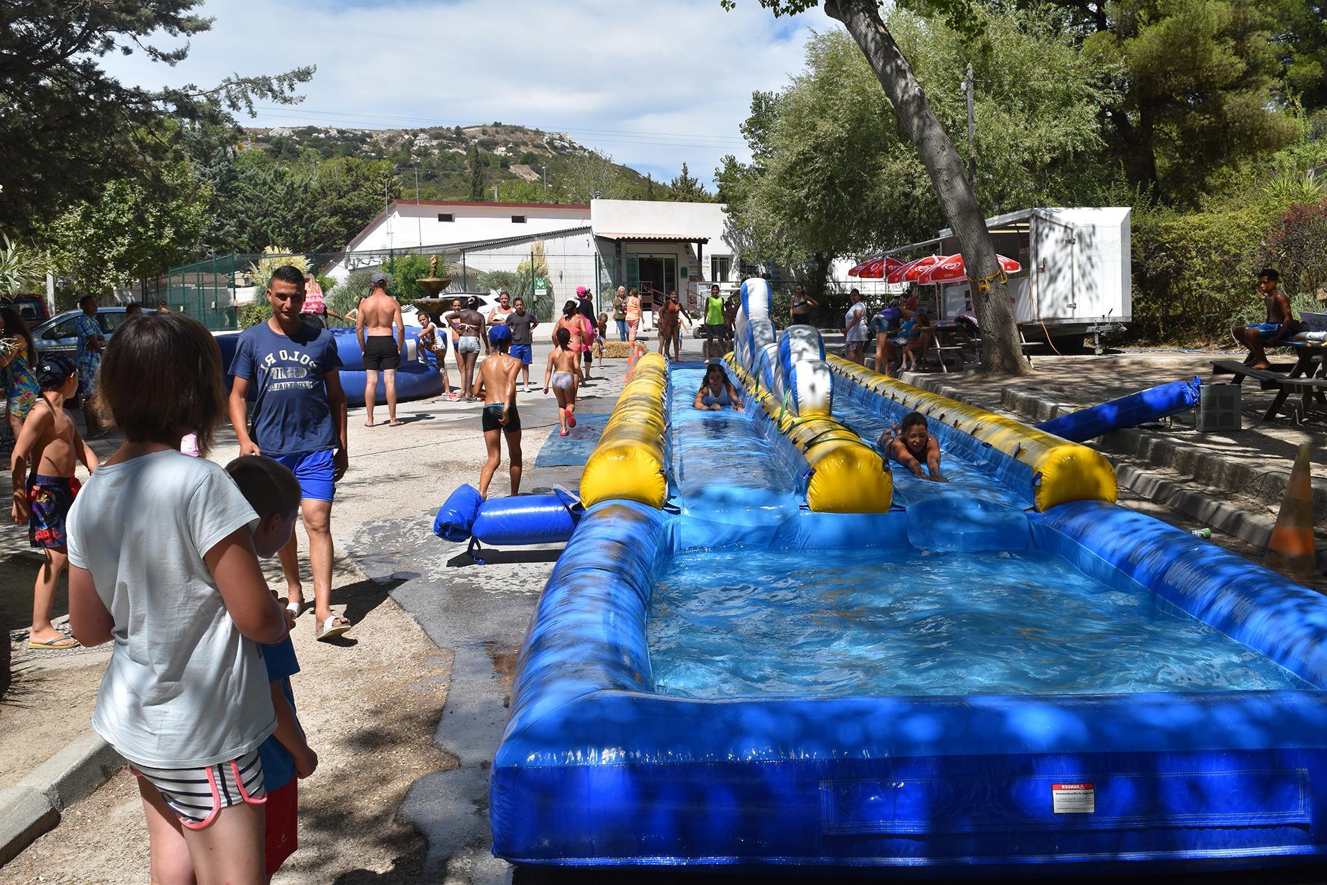 Glissade - Camping Marina Plage