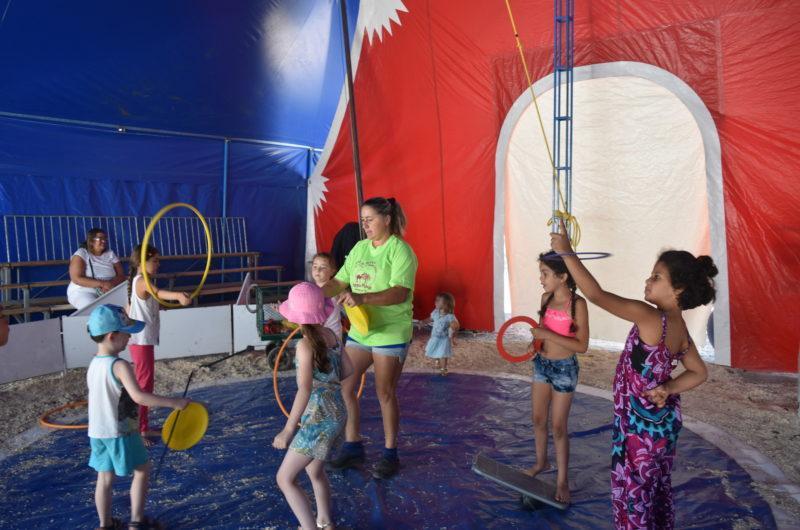 Ecole du cirque - Camping Marina Plage